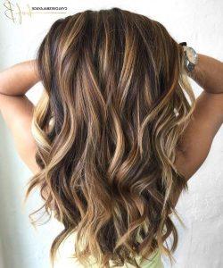 Onwijs Highlights bruin haar (meer diepte in je bruine haarkleur BO-27