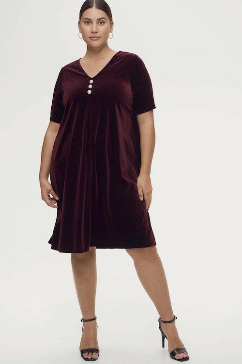 ellos-fluwelen-jurk-alisia-donkerrood-goud-donkerrood-7325901524572