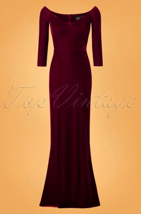 Collectif-Clothing-50s-Anjelica-Velvet-Maxi-Dress-in-Wine