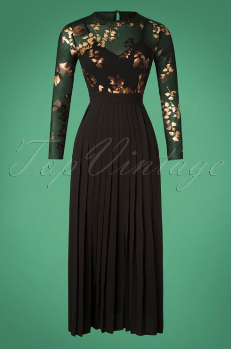 Little-Mistress-70s-Fifi-Floral-Maxi-Dress-in-Black-and-Gold