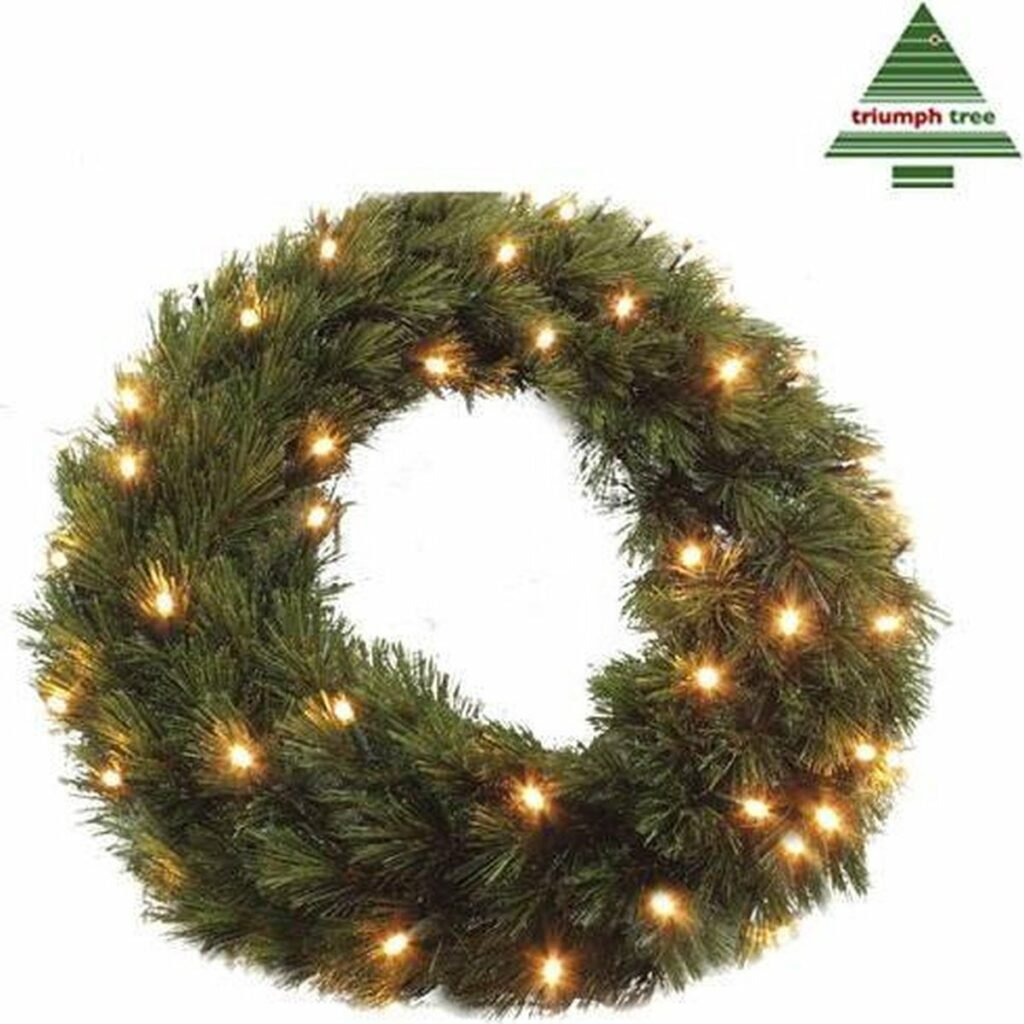 kerstkrans-lichtjes