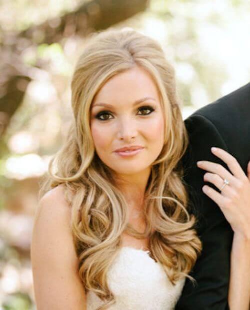 bruidskapsel-gekruld