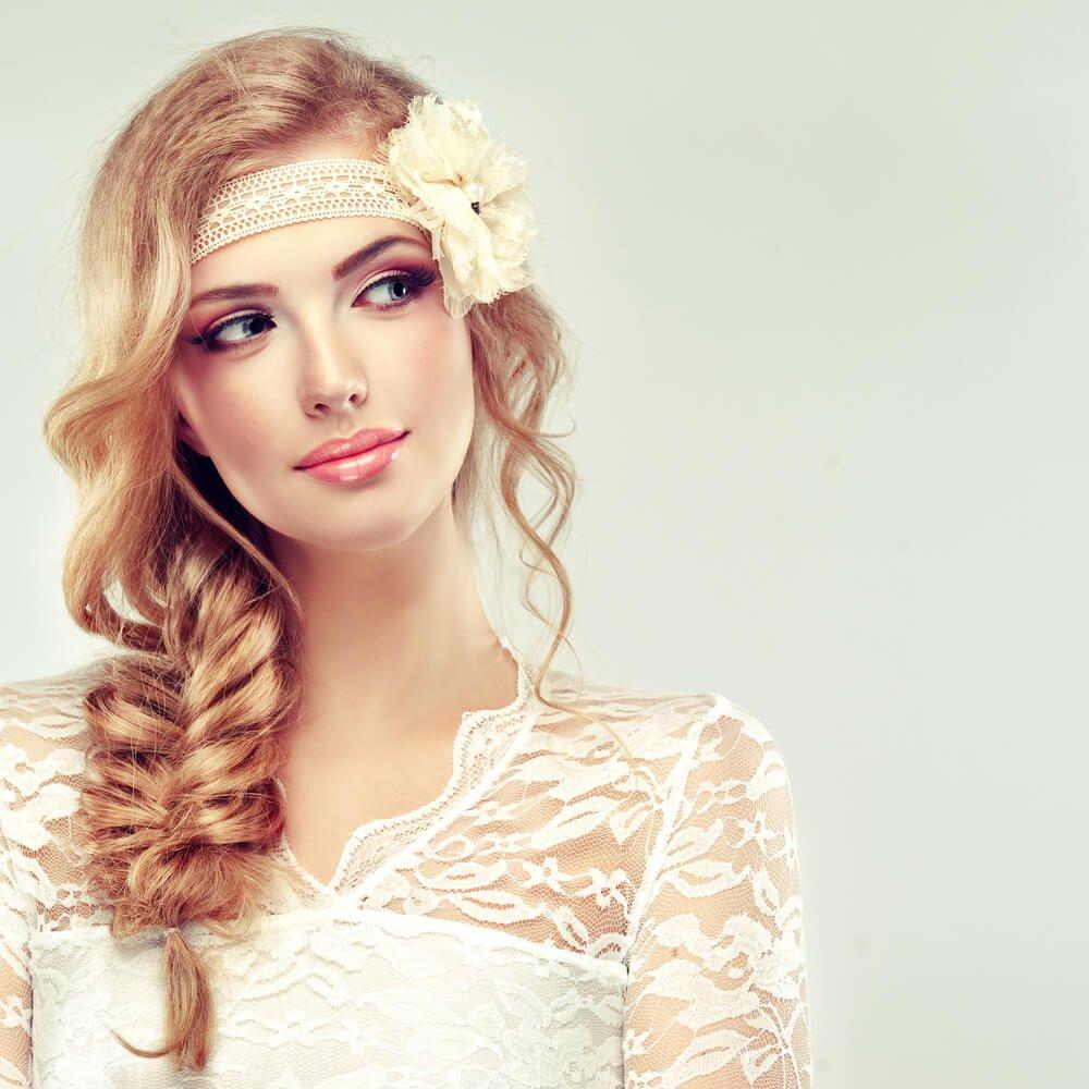 bruidskapsels-vlechtkapsel