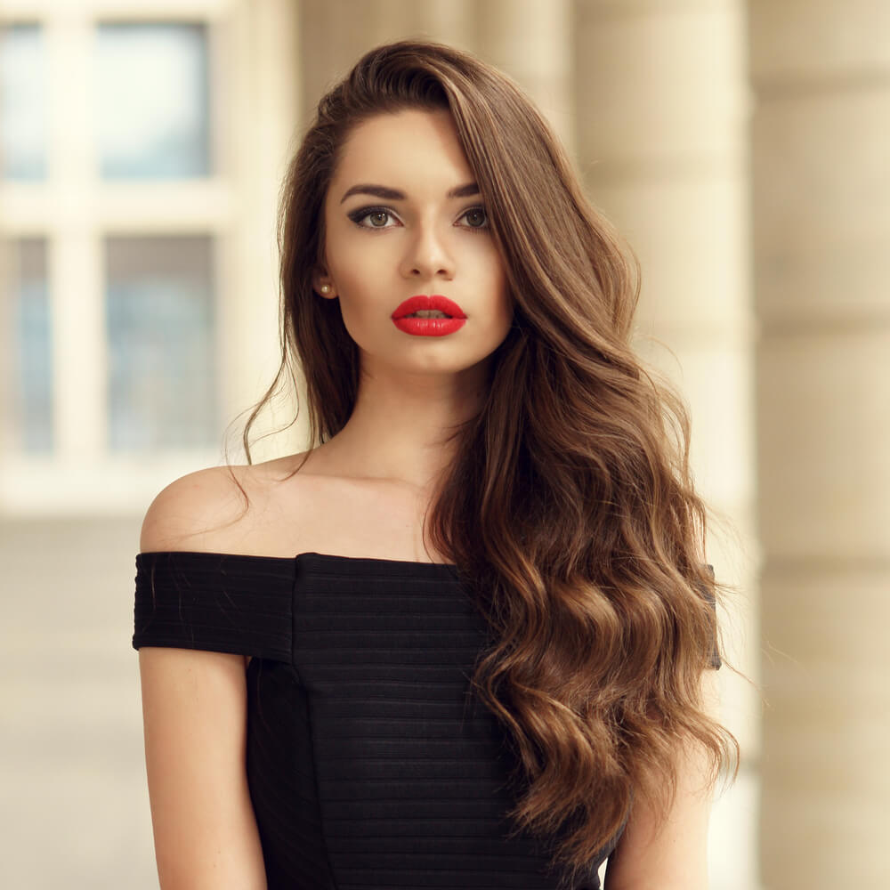bruine-haarkleuren