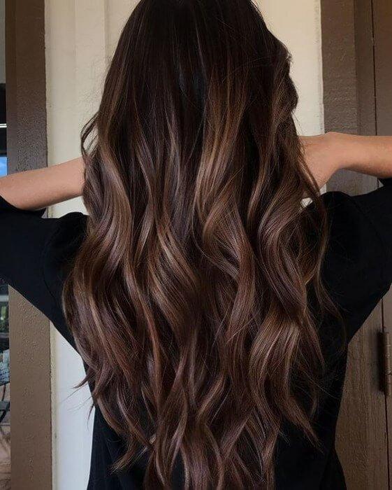 chocoladebruine-haarkleur-ombre