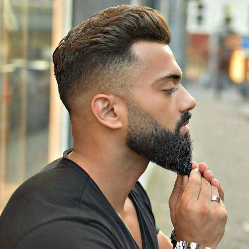 mannenkapsels-baard