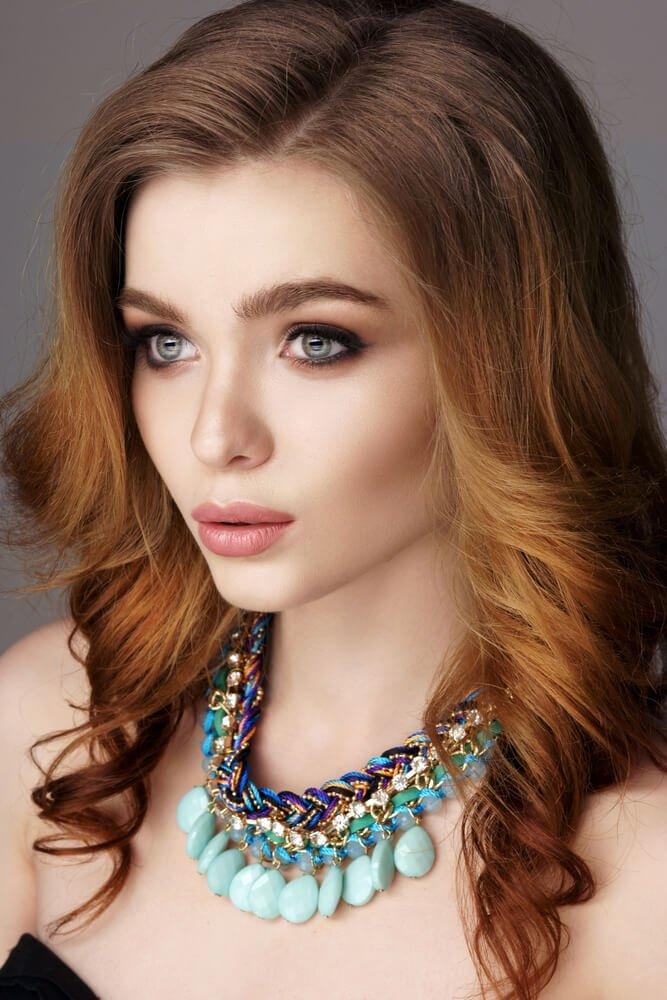 rood-haar-makeup