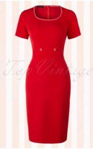 follow-pencil-dress-rood-pinup