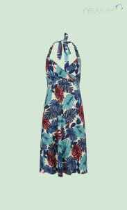 kinglouie-neck-knot-dress-tropicana