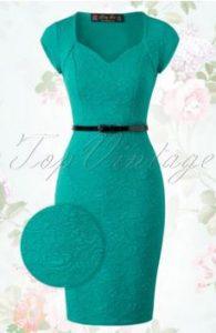 lindy-bop-groene-jurk