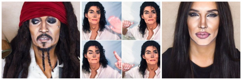marina mamic makeup tranformations