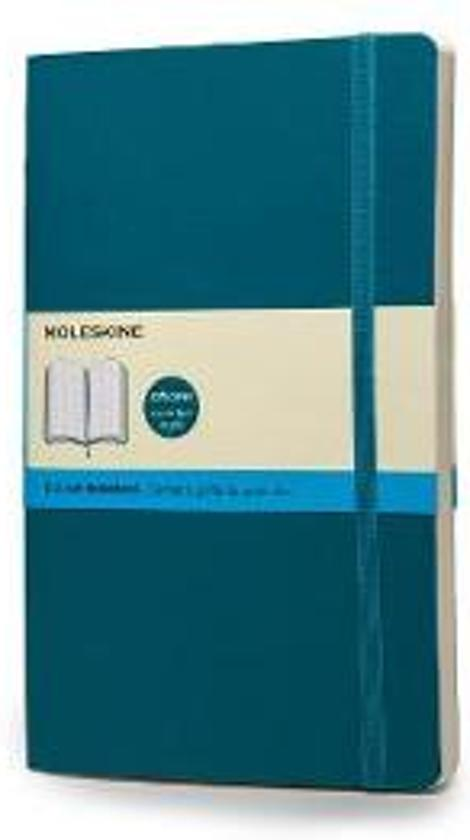 moleskine notebook large dotted underwater blue