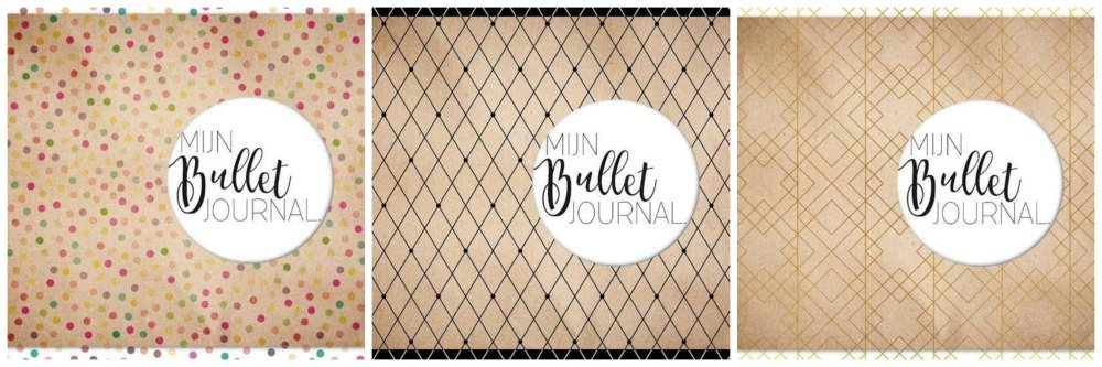 mus bullet journal bujo korting 2