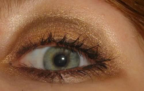links left eye iridotomie