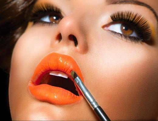 oranje makeup 1