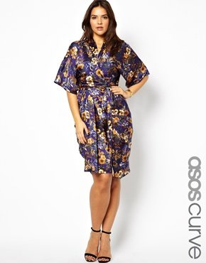 plus-size-kimono-dress