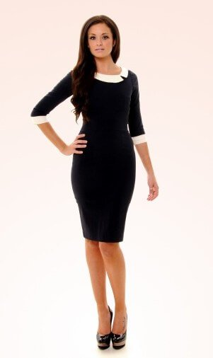 so couture mistress mad men pencil dress 1