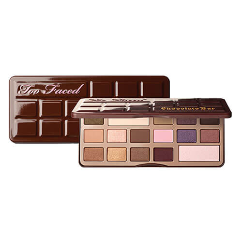 too faced chocolate bar eye shadow collection palette 1