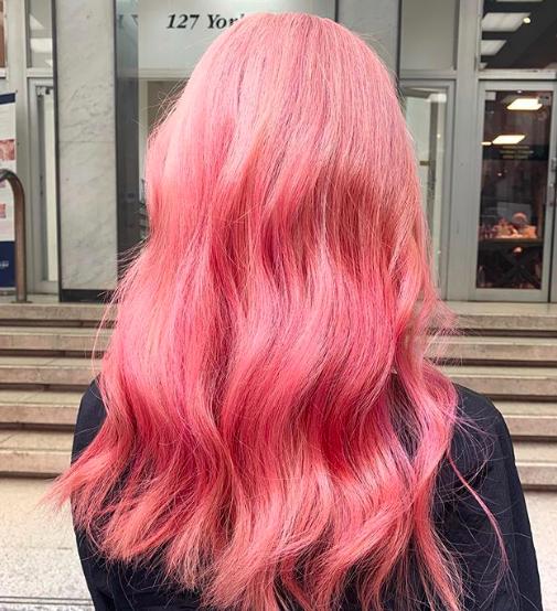 roze-haarkleuren-warm
