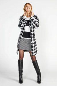 steps-coat-met-wol-en-pied-de-poule-zwart-zwart-8718303551526
