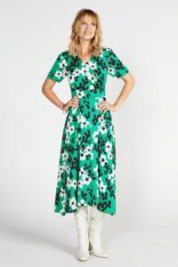 steps-gebloemde-jurk-groen-groen-8718303554800
