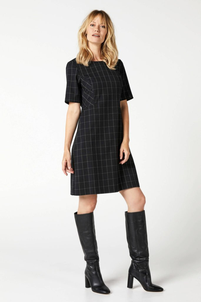 steps-geruite-jurk