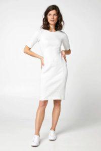 steps-jersey-jurk-met-textuur-gebroken-wit-ecru-8718303558358