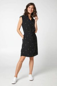 steps-jurk-met-all-over-print-zwart-geel-zwart-8718303563185-1