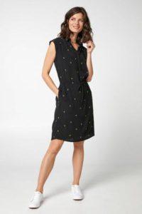 steps-jurk-met-all-over-print-zwart-geel-zwart-8718303563185-2
