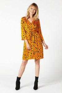 steps-jurk-met-dierenprint-geel-geel-8718303548892-2