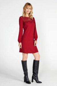 steps-jurk-met-kant-rood-rood-8718303556750