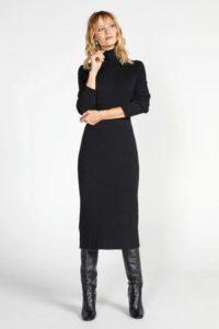 steps-ribgebreide-jurk-zwart-zwart-8718303565851