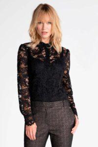 steps-semi-transparante-kanten-blouse-zwart-zwart-8718303574075