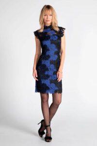 steps-semi-transparante-kanten-jurk-zwart-blauw-zwart-8718303570640