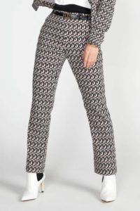 steps-slim-fit-broek-met-all-over-print-zwart-zwart-8718303565516
