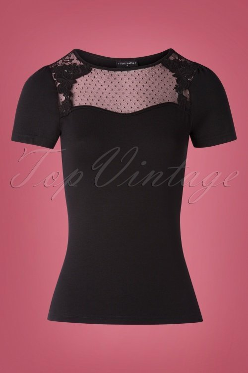 Vive-Maria-British-Shirt-Black