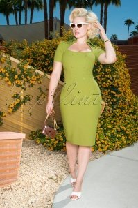 168989-Glamour-Bunny-26376-Rita-Rae-Pencil-Dress-in-Green-121017-0013W-category