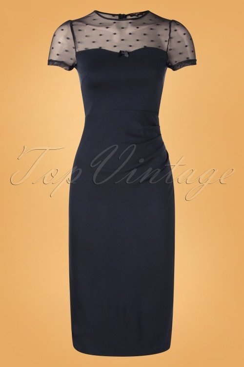 Vive-Maria-Blue-Midnight-Pencil-Dress