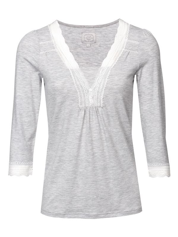 Vive-Maria-Dreaming-Basic-Single-Shirt-grau-melan_4