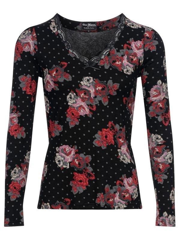 Vive-Maria-Flowerdots-Shirt-black-allover-36892