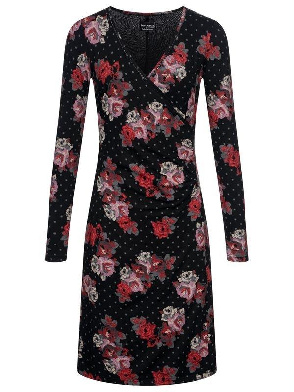 Vive-Maria-Flowerdots-Wrapdress-black-allover-36891