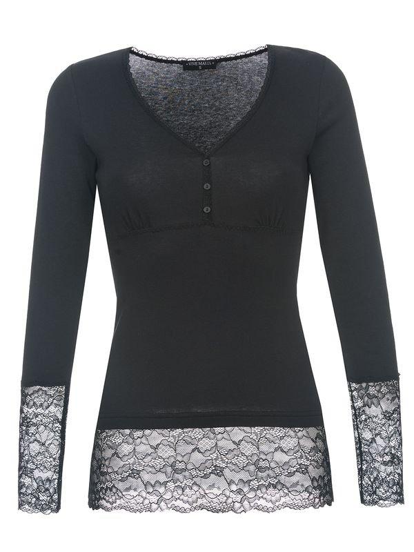 Vive-Maria-Romantic-Basicshirt-schwarz-34311