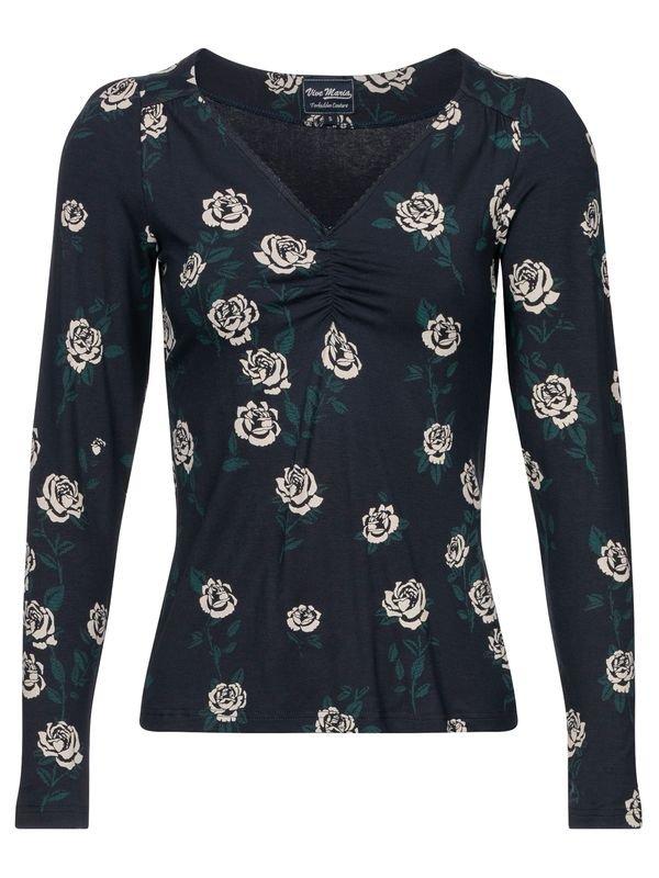 Vive-Maria-Vanity-Rose-Shirt-darkblue-allover-36911