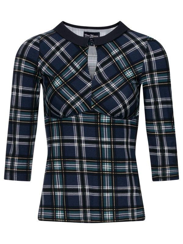 Vive-Maria-Very-British-Shirt-darkblue-allover-36917