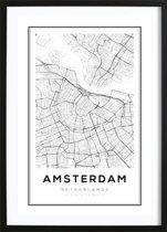 amsterdam-kaart-poster