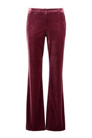 expresso-fluwelen-flared-pantalon-bordeaux-rood-8720019050989