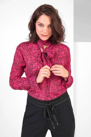 expresso-gebloemde-blouse-roze-zwart-roze-8720019049259