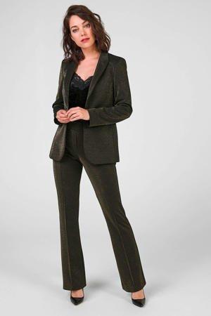 expresso-high-waist-flared-pantalon-goud-zwart-goud-8720019045701