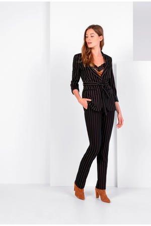 expresso-straight-fit-broek-met-krijtstreep-zwart-zwart-8720019043837