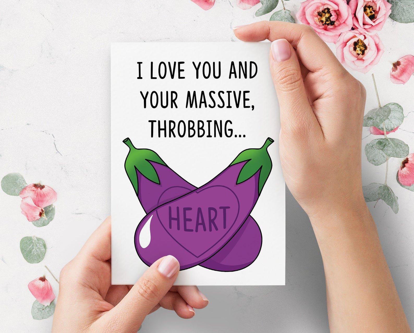 aubergine-kaartje